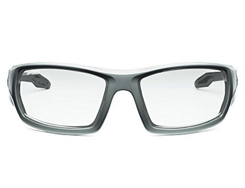 Ergodyne Skullerz Odin Safety Glasses Matte Gray