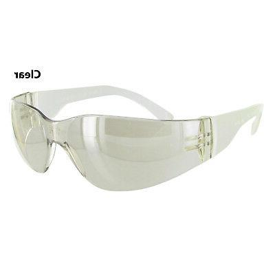 Starlite SM Safety Glasses - Clear Temple - Clear Mirror Len