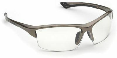 Elvex Sonoma Hard Coated Polycarbonate Lens, Glossy Brown Fr