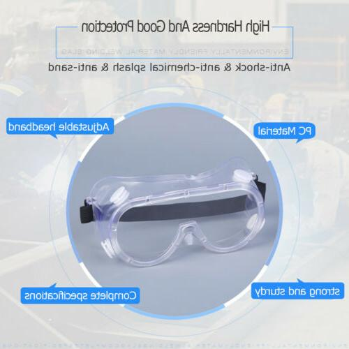 Safety Goggles Eyewear Clean PCS