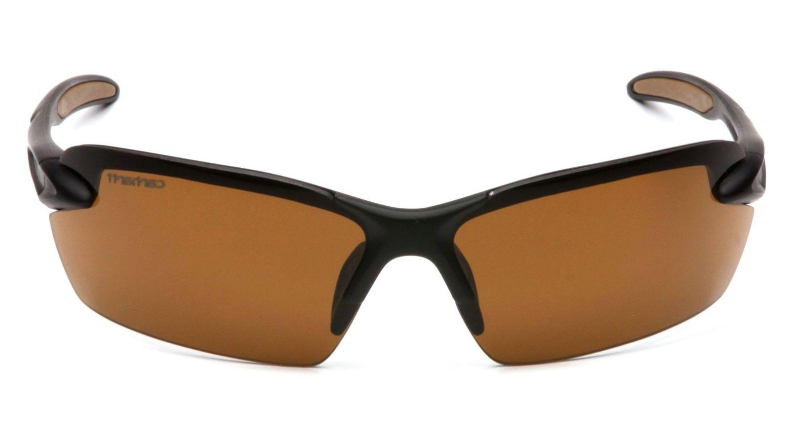 spokane safety glasses black frames and bronze