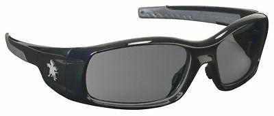 MCR Safety SR112 Swagger Safety Glasses, Black Frame with Gr
