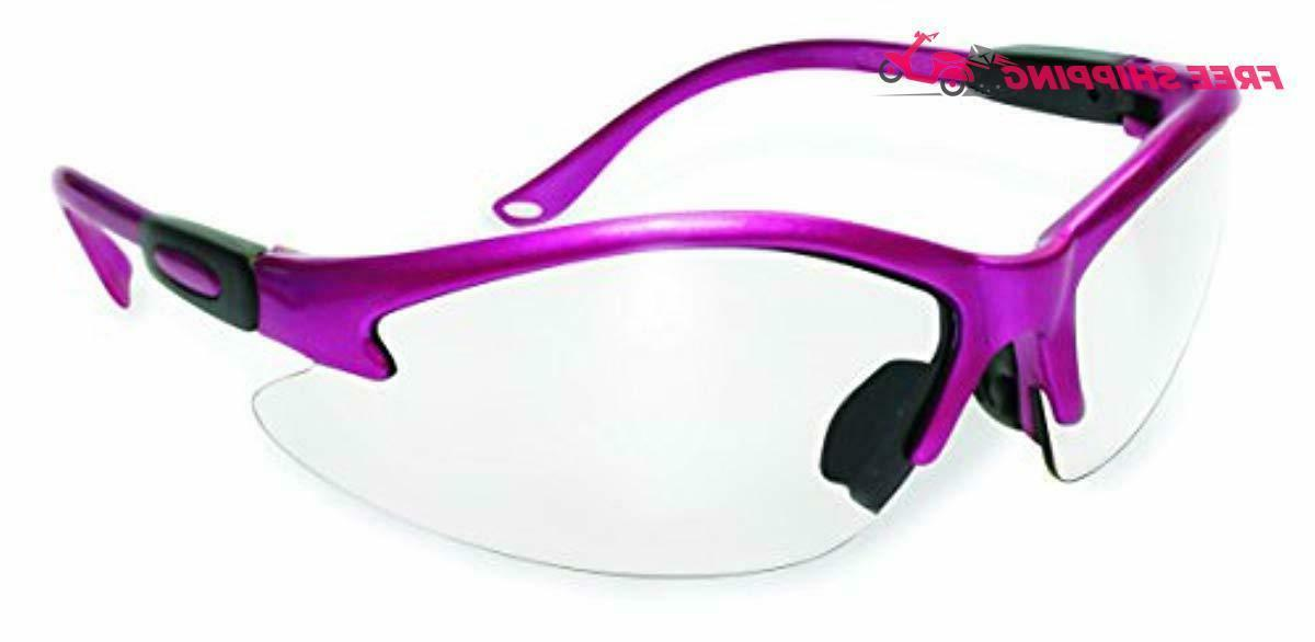 ssp eyewear womens safety glasses with pink