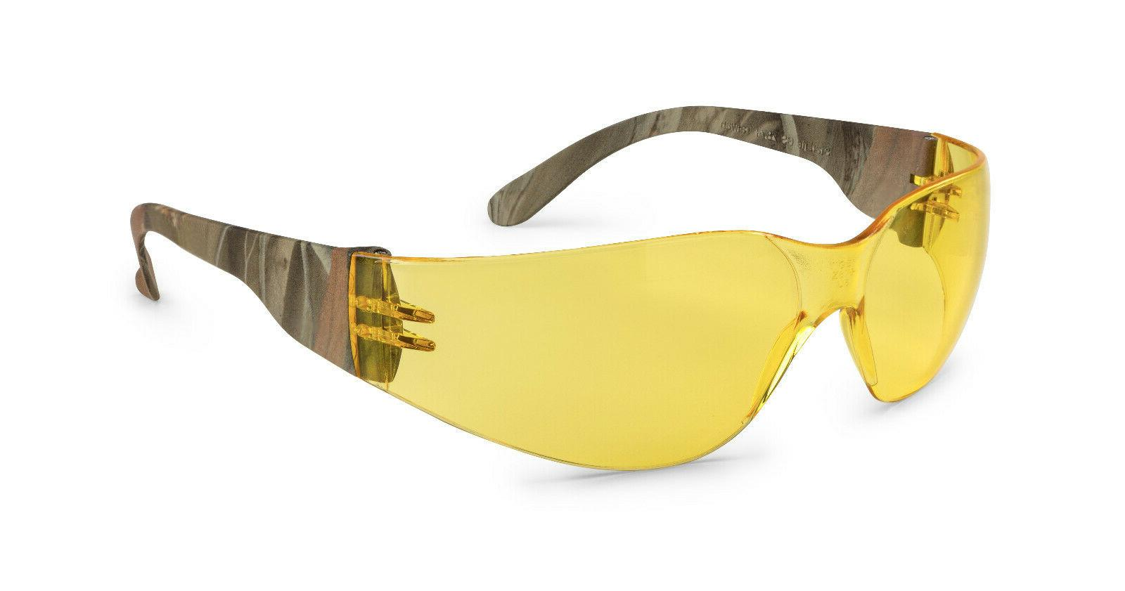 Gateway Starlite Camo Camouflage Yellow Safety Glasses Sun H