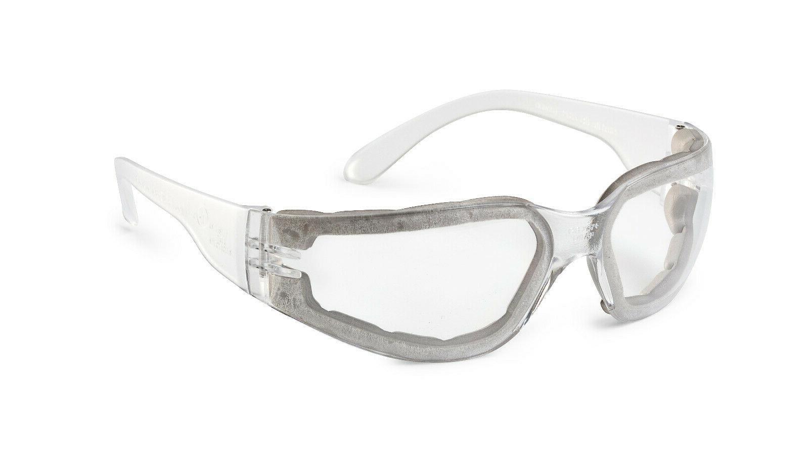 Gateway Starlite Foam Pro Clear Anti Fog Lens Safety Glasses