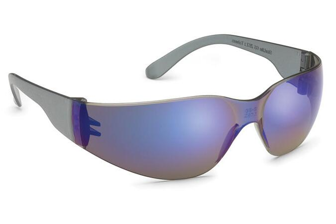 Starlite Safety Glasses with Blue Mirror Lens