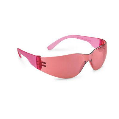 starlite sm pink safety glasses