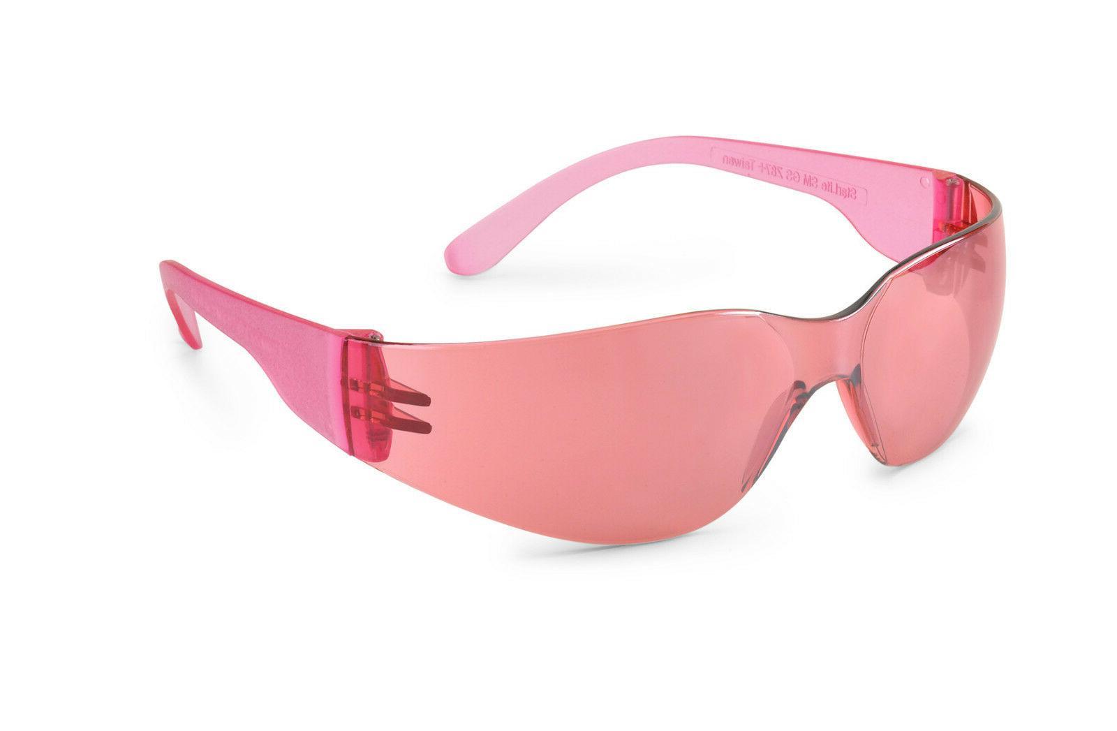 Gateway Starlite Small Pink Mirror Lens Safety Glasses Sun W
