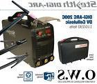 SWP Stealth DIGI-ARC 200C 200amp Dual Voltage 110v 240v Inve