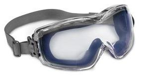 stealth navy polycarbonate safety goggle