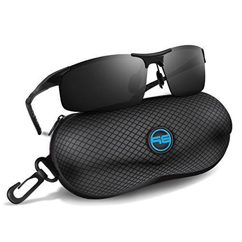 Sunglasses Driving Fishing Shooting Polarized Metal Frame Sp