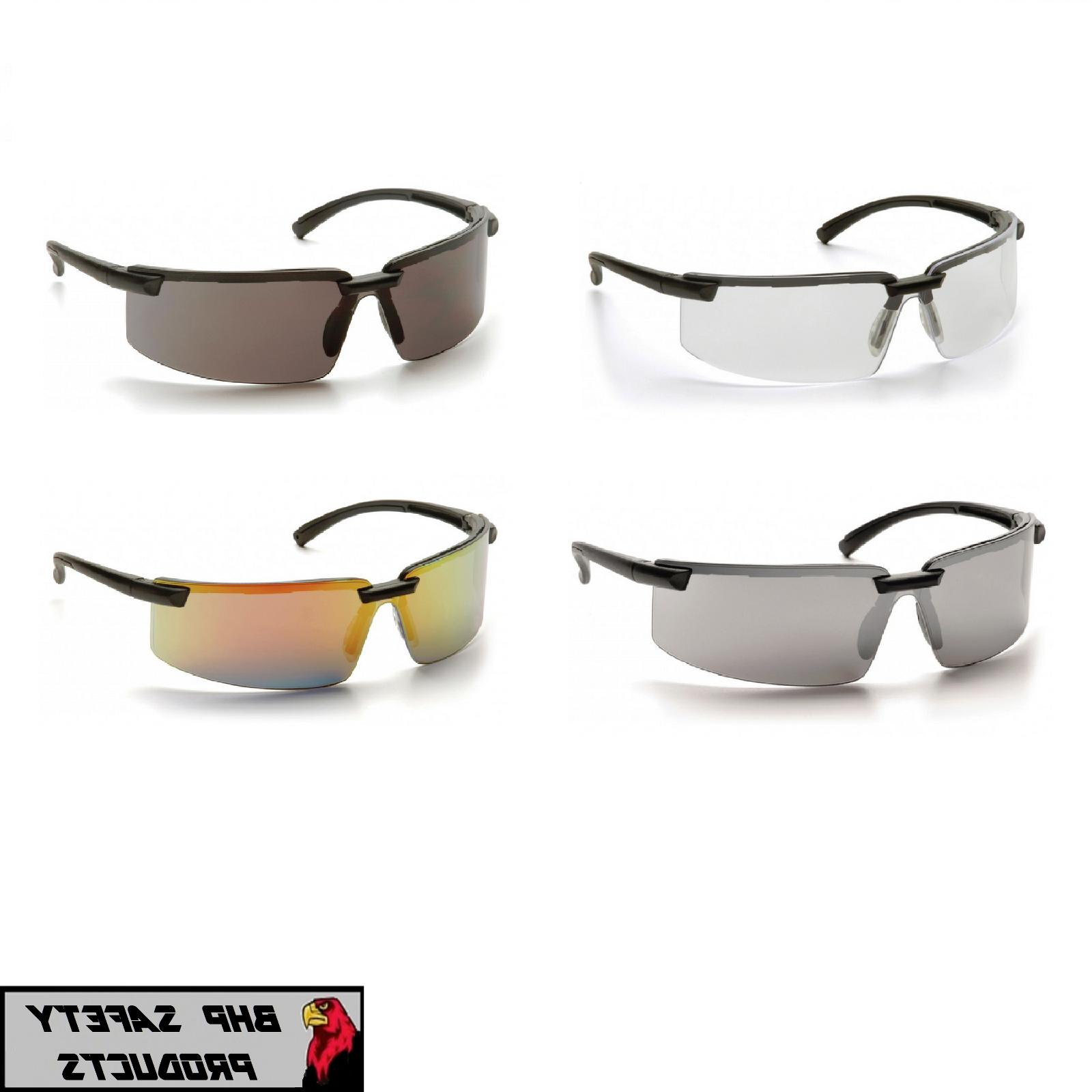 surveyor safety glasses black frame work eyewear