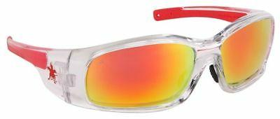 swagger safety glasses clear frame