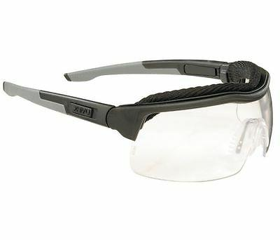 sx0300 scratch resistant safety glasses clear lens