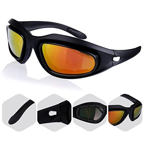 Polarized Protective Safety Glasses 3 Driving Fishing Running More