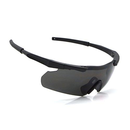 ActionEliters Tactical Eyewear Eyeshield Polarized Shooting Safety Glasses 3 Driving More