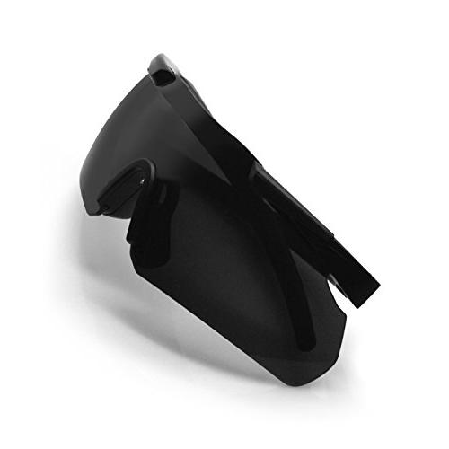 ActionEliters Eyewear Eyeshield Polarized UV400 Safety w/ 3 Lenses for Driving More