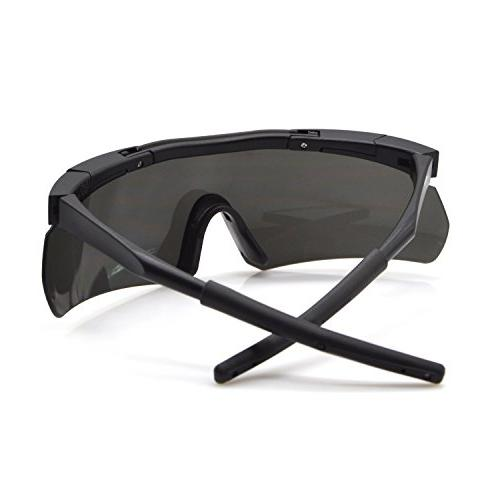 ActionEliters Polarized Protective Shooting Safety w/ 3 Driving More