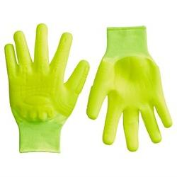 Mad Grip F50 Thunderdome Impact Gloves, Medium, High Vis Yel