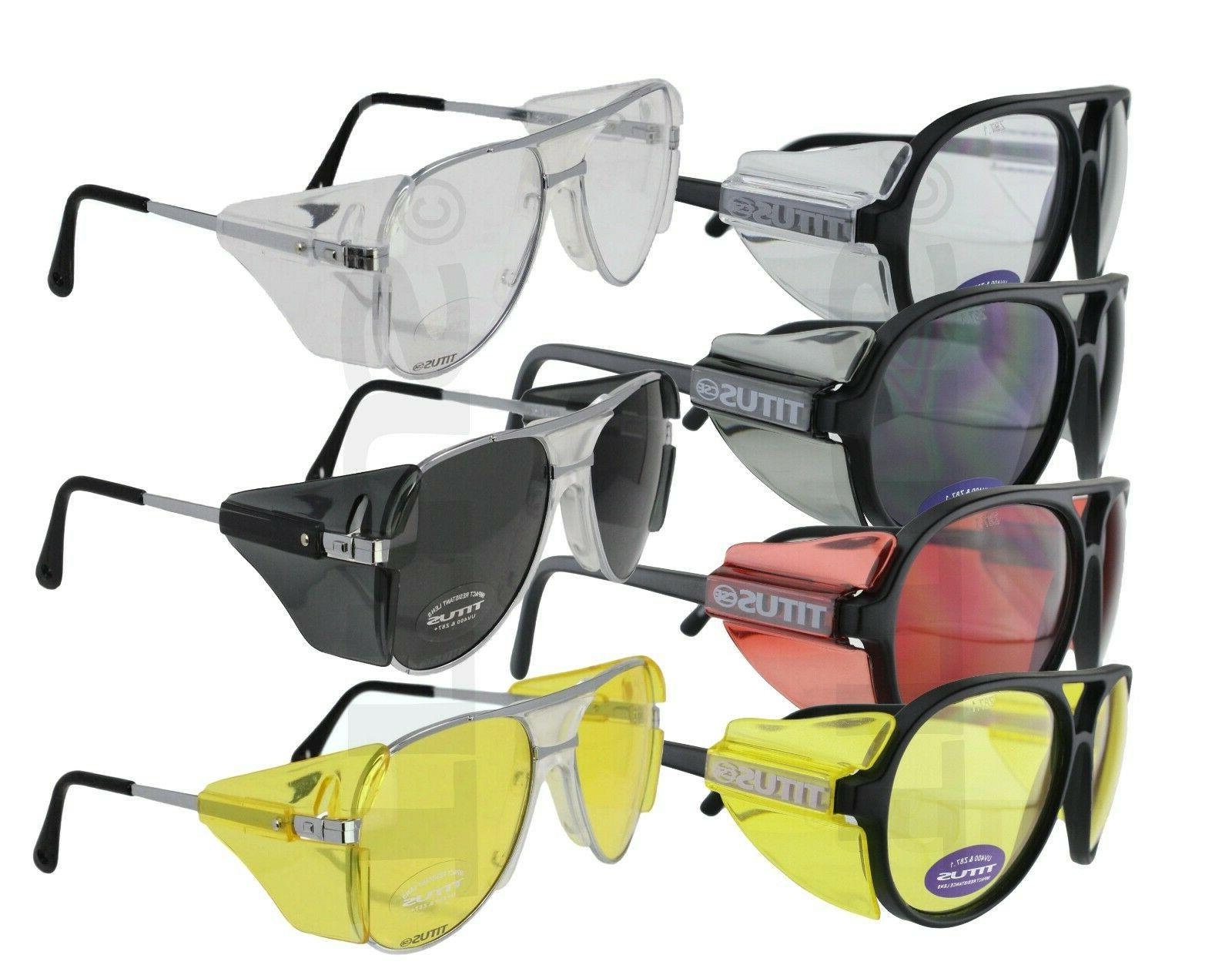 titus g35 aviator safety glasses shooting motorcycle