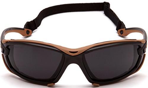 Carhartt Safety Black/Tan Frame, Anti-Fog Lens