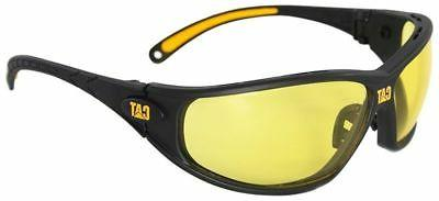 tread safety glasses with black frame