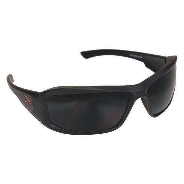 EDGE EYEWEAR TXB236 Polarized Safety Glasses,Smoke Lens
