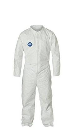 Dupont TY120S L Large Tyvek Coveralls Suit, Sold By Each