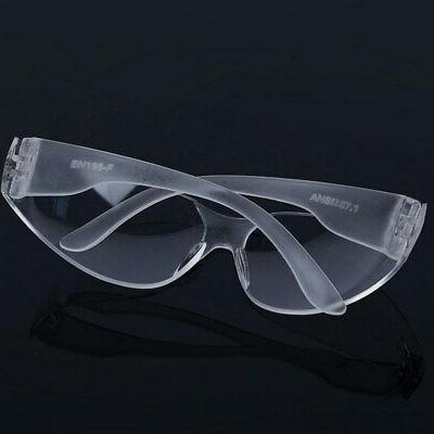 Safety Glasses Fog Resistant Lenses + No-Slip