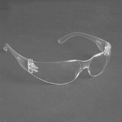 Safety Glasses w/ Anti Fog Scratch Resistant Wrap-Around Len