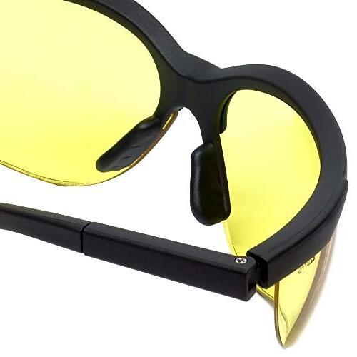 LEDwholesalers Safety Glasses Tint,