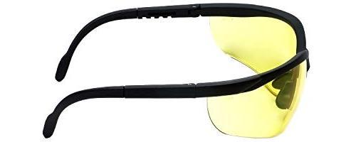 LEDwholesalers UV Protection Adjustable Safety with Tint,