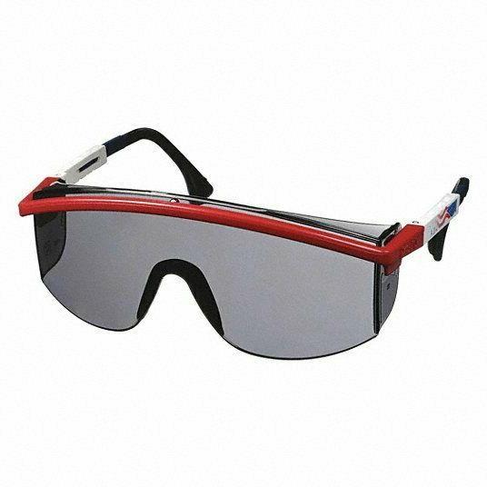 uvex astrospec 3000 work safety glasses gray