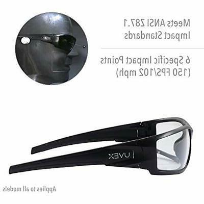 Uvex Hypershock Glasses, Frame Gray Lens &amp