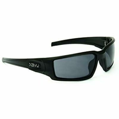 uvex by hypershock safety glasses black frame