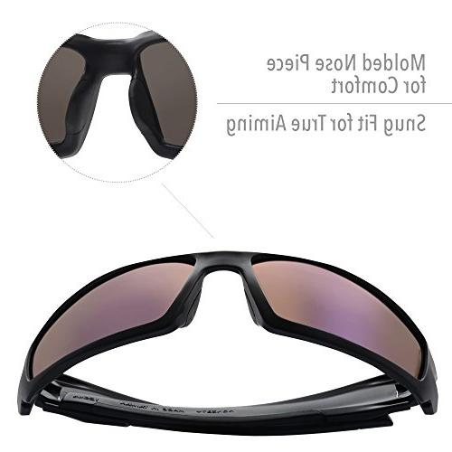 Howard by Uvex Glasses Hardcoat Coating, Blue Lens