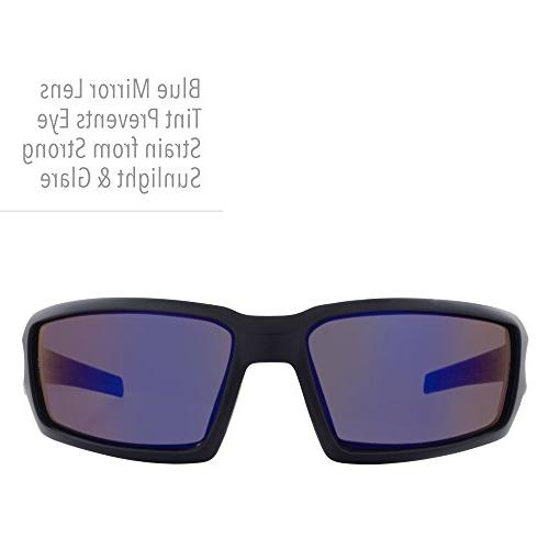 Howard Uvex Hypershock Anti-Glare Glasses Coating, Blue Mirror