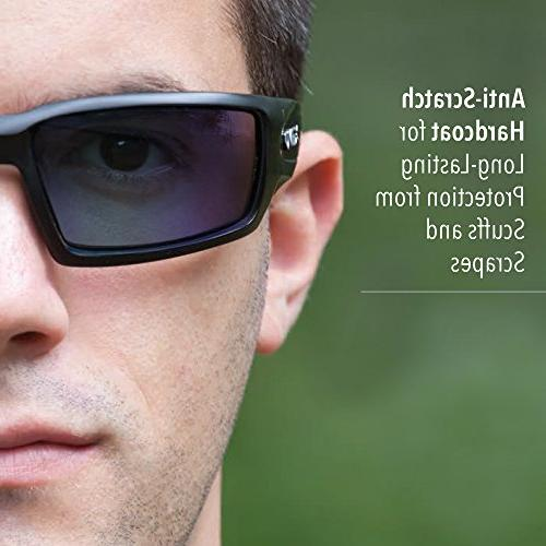 Howard Uvex Hypershock Glasses with Coating,