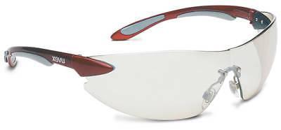 Bacou-Dalloz UXS4412 Uvex Ignite Red-Silver Frame Reflect 50