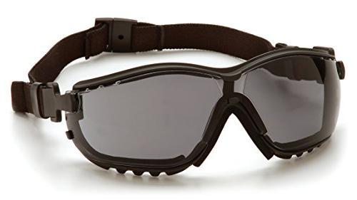 Pyramex V2G Goggles with Smoke Lens