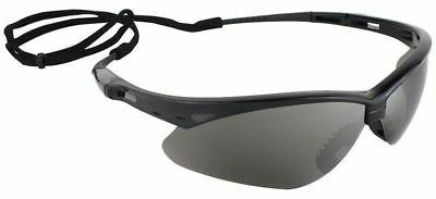 Jackson Safety* V30 Nemesis Safety Glasses Black Frame Smoke