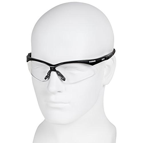 Jackson Safety Safety Glasses , with Black Pairs Case