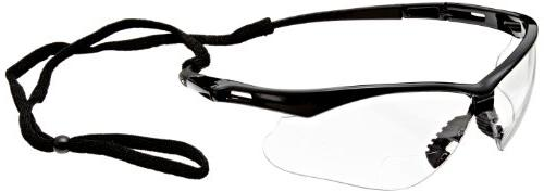 Jackson Vision Safety , Clear +2.0 Diopters, 6