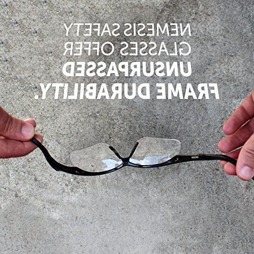 Jackson V60 Nemesis Vision Glasses , Clear +2.0 Black 6 Pairs/Case