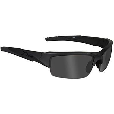 Wiley X Valor Sunglasses Smoke Grey Lens, Matte Black Frame