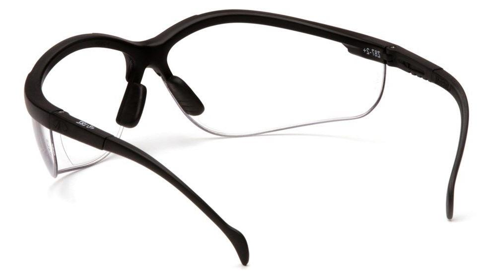 Pyramex Venture II Glasses with Bifocal Style 2.0 Readers Clear
