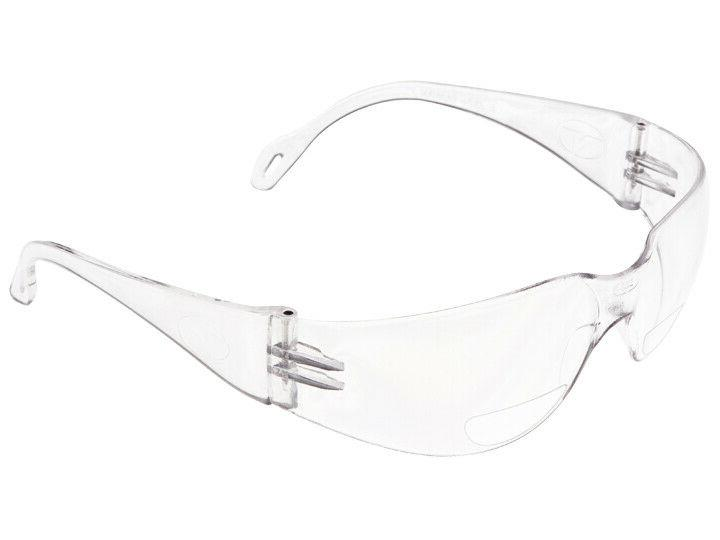veratti 2000 bifocal safety glasses readers clear