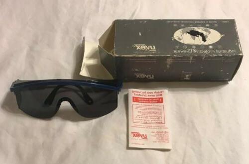 Vintage UVEX Tinted Safety Glasses Metal Wood Working Mechan