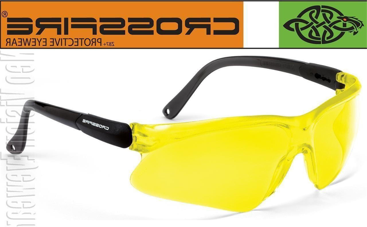 Crossfire Viper Yellow Lens Safety Glasses Sunglasses Shooti