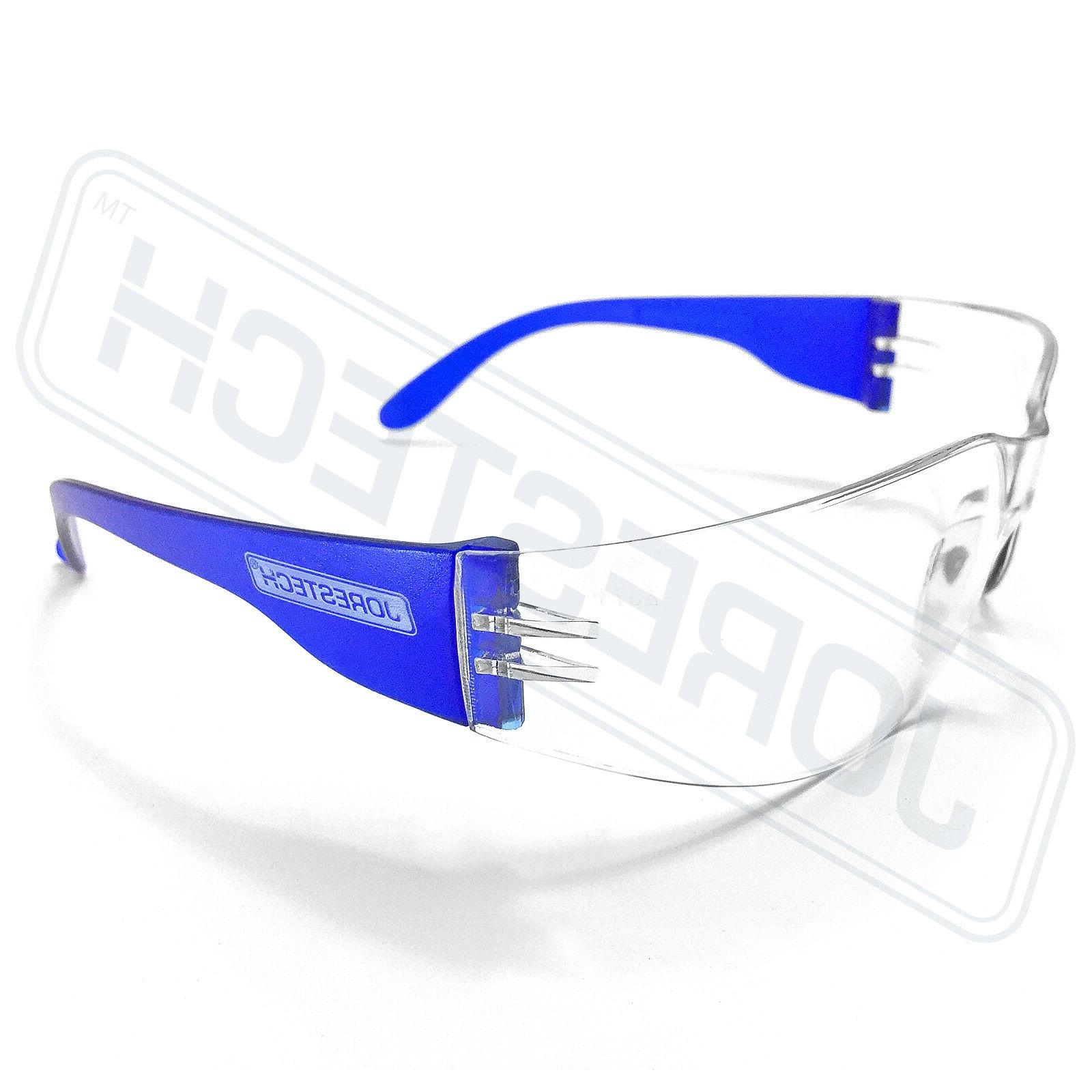 JORESTECH Blue clear Lens Sunglasses Z87+
